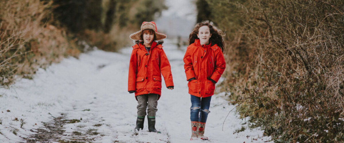 Kids Fashion on Winter